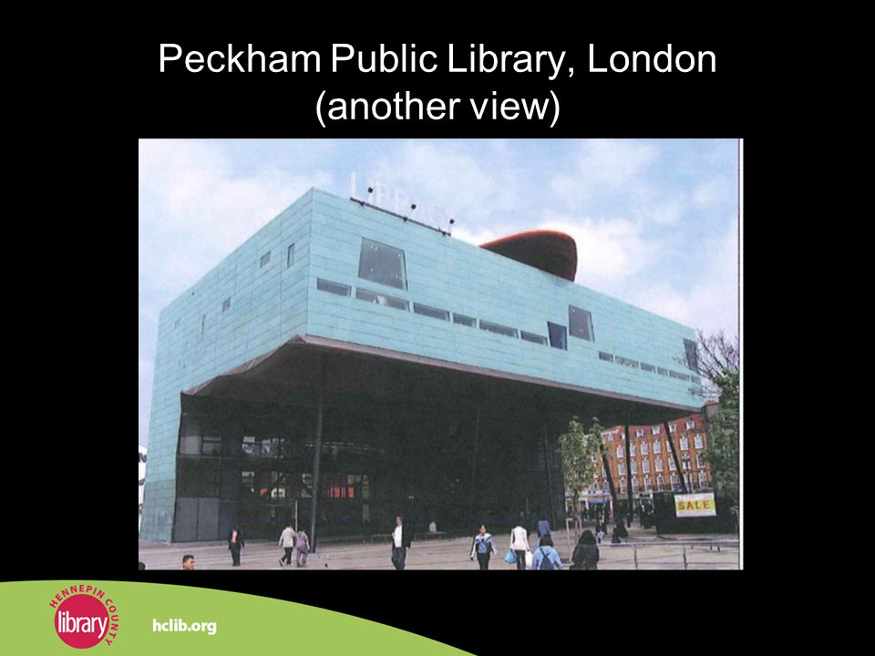 Peckham Public Library, London (another view)