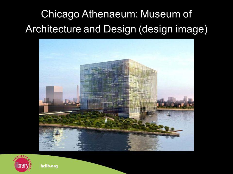 Chicago Athenaeum: Museum of Architecture and Design (design image)