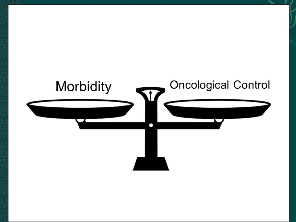 Morbidity Oncological Control