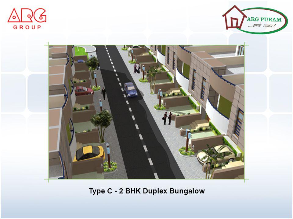 Type C - 2 BHK Duplex Bungalow