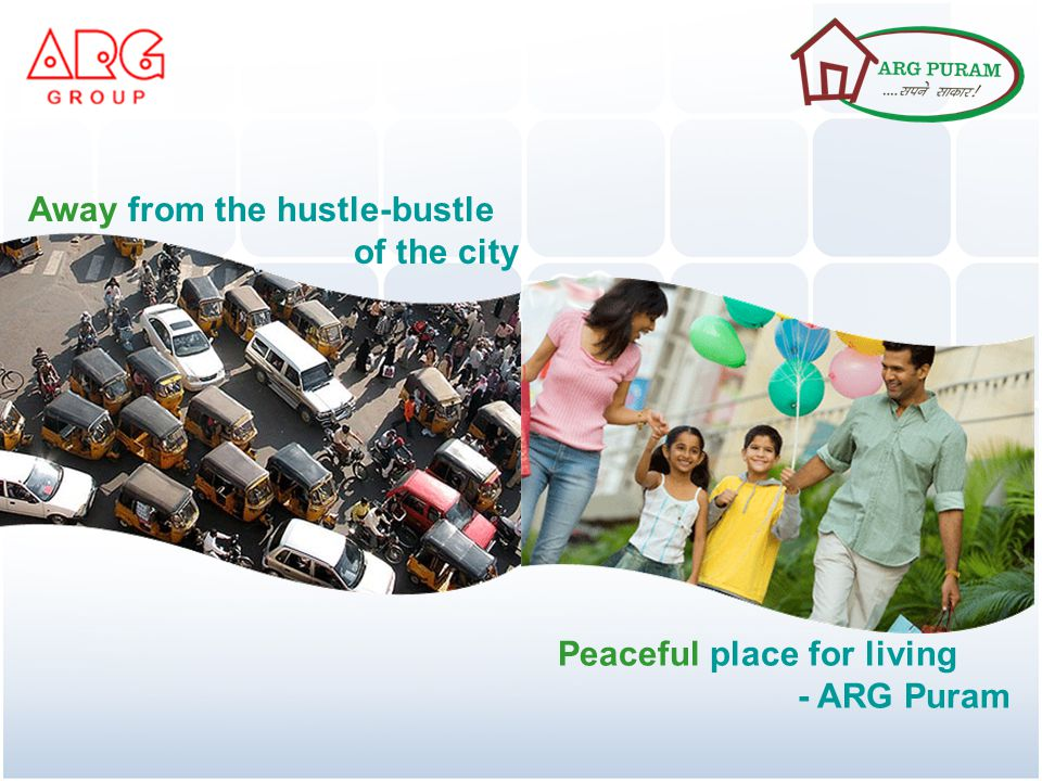 Away from the hustle-bustle of the city Peaceful place for living - ARG Puram
