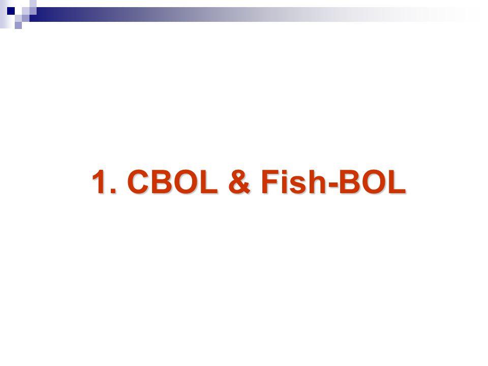 1. CBOL & Fish-BOL