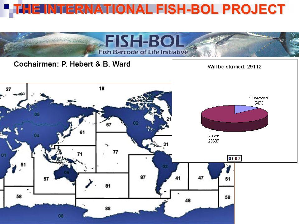 THE INTERNATIONAL FISH-BOL PROJECT Cochairmen: P. Hebert & B. Ward