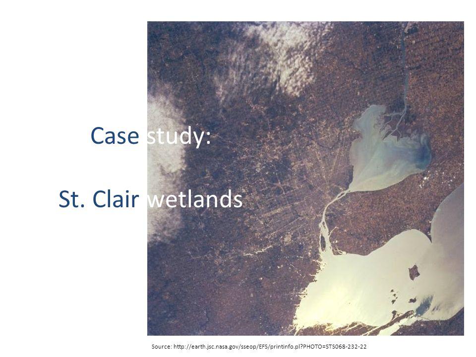The Great Lakes (North America) Source: http://mschaut.files.wordpress.com/2008/02/great_lakes.jpg Huron-Erie Corridor