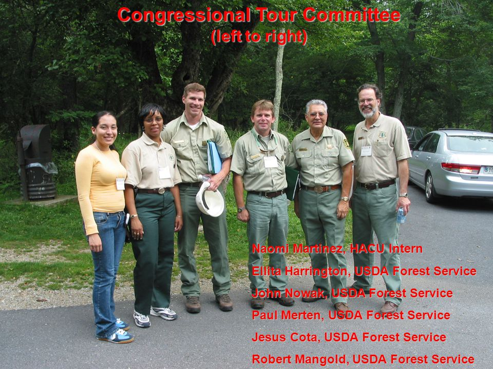 Steve Oak, USDA Forest Service, ends the field trip with updates on Sudden Oak Death.