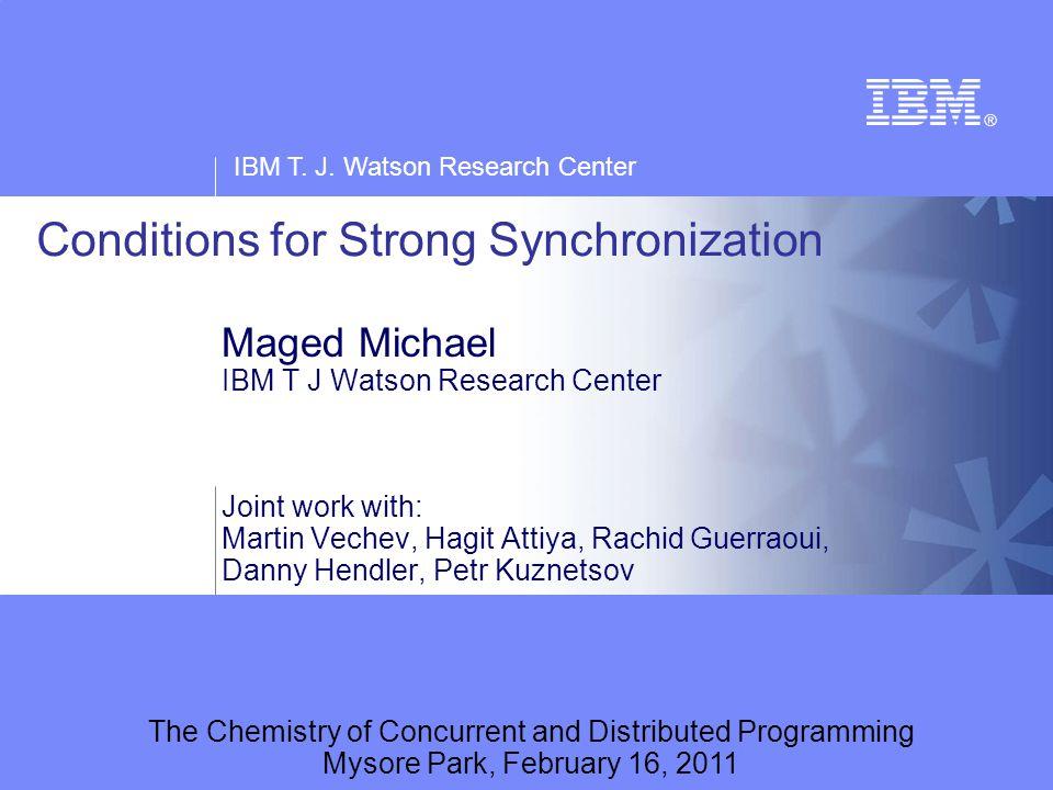 IBM T. J.