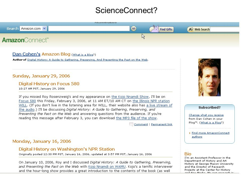 ScienceConnect?