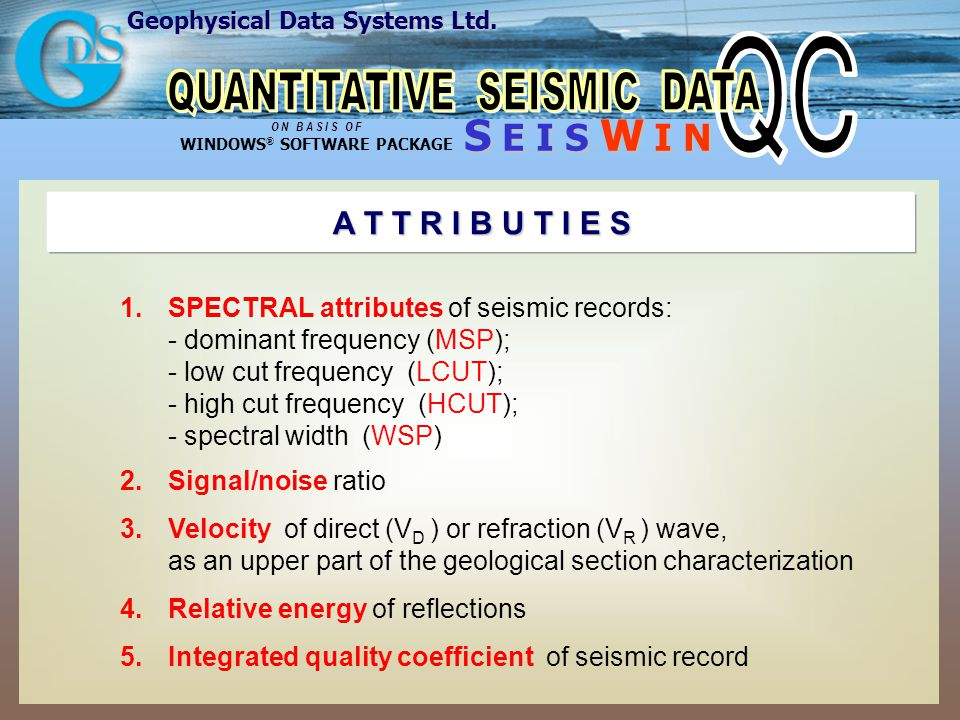 Geophysical Data Systems Ltd.