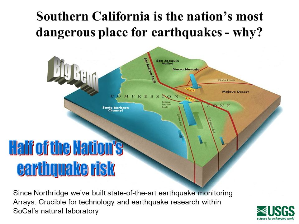Southern California is the nations most dangerous place for earthquakes - why.