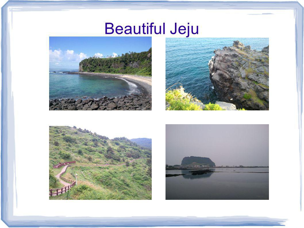 WELCOME to JEJU!