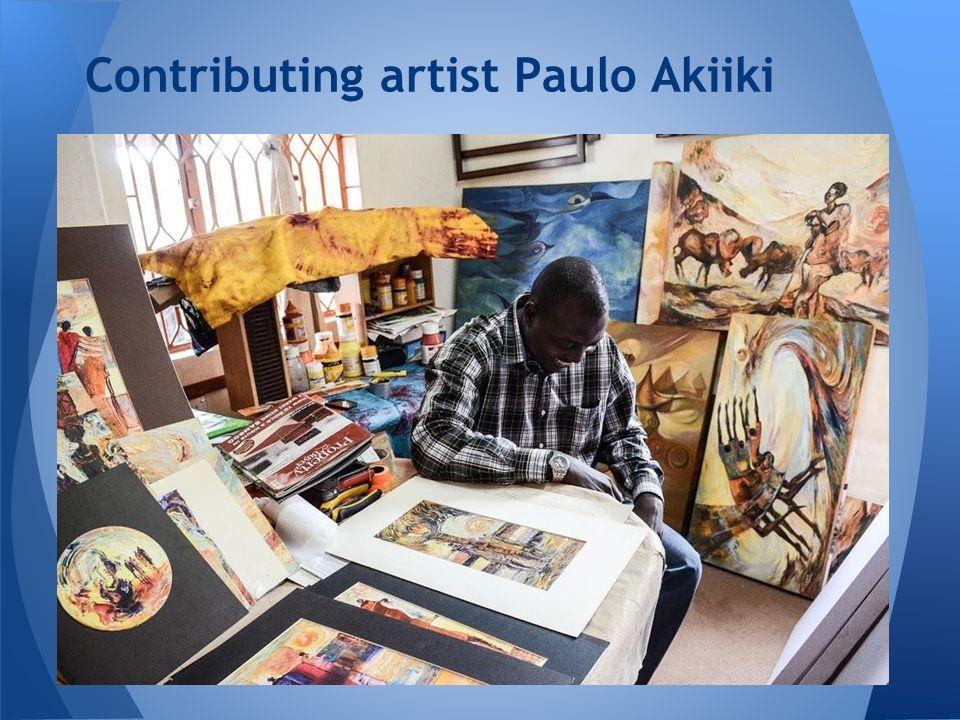 Contributing artist Paulo Akiiki