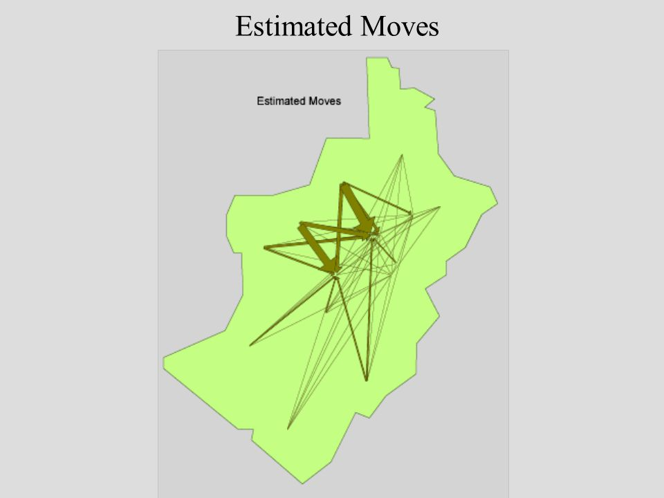 Estimated Moves