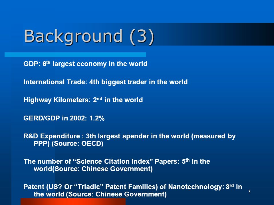 46 Patent vs Researcher (FTE): Selected OECD and non-OECD Countries (1998 Data)
