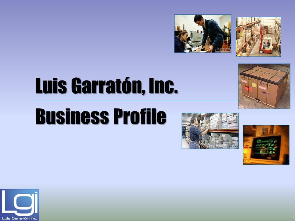 Luis Garratón, Inc. Business Profile 1