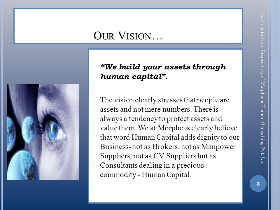 View Morpheus Database More productivity due to Automated Operations Daily Auto Report Generation Monthly Performance Reports Track Status of Candidate Import Resume and create your own Database Annual Fee of Rs.