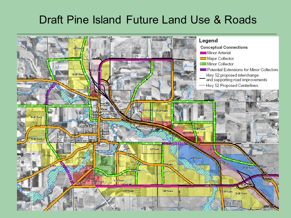 Draft Pine Island Future Land Use & Roads