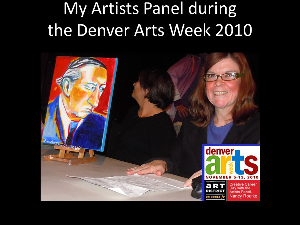 My Artists Panel during the Denver Arts Week 2010