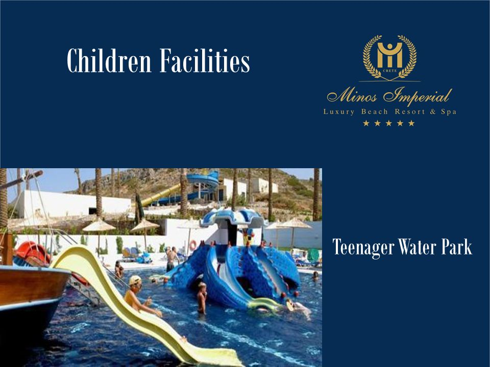 Teenager Water Park Children Facilities