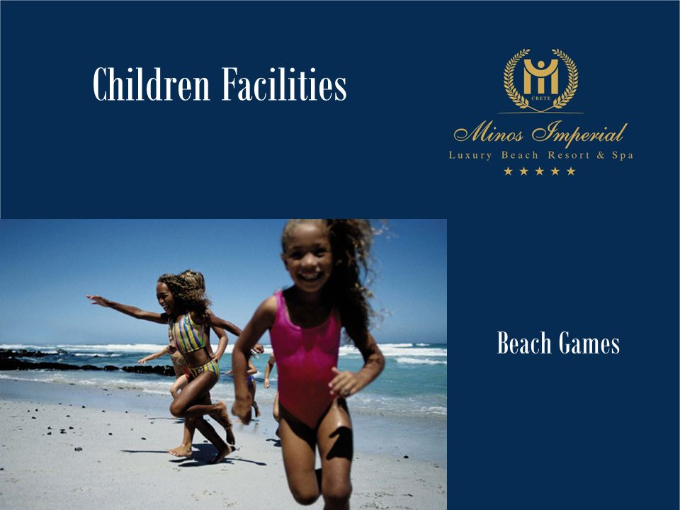 Beach Games Children Facilities