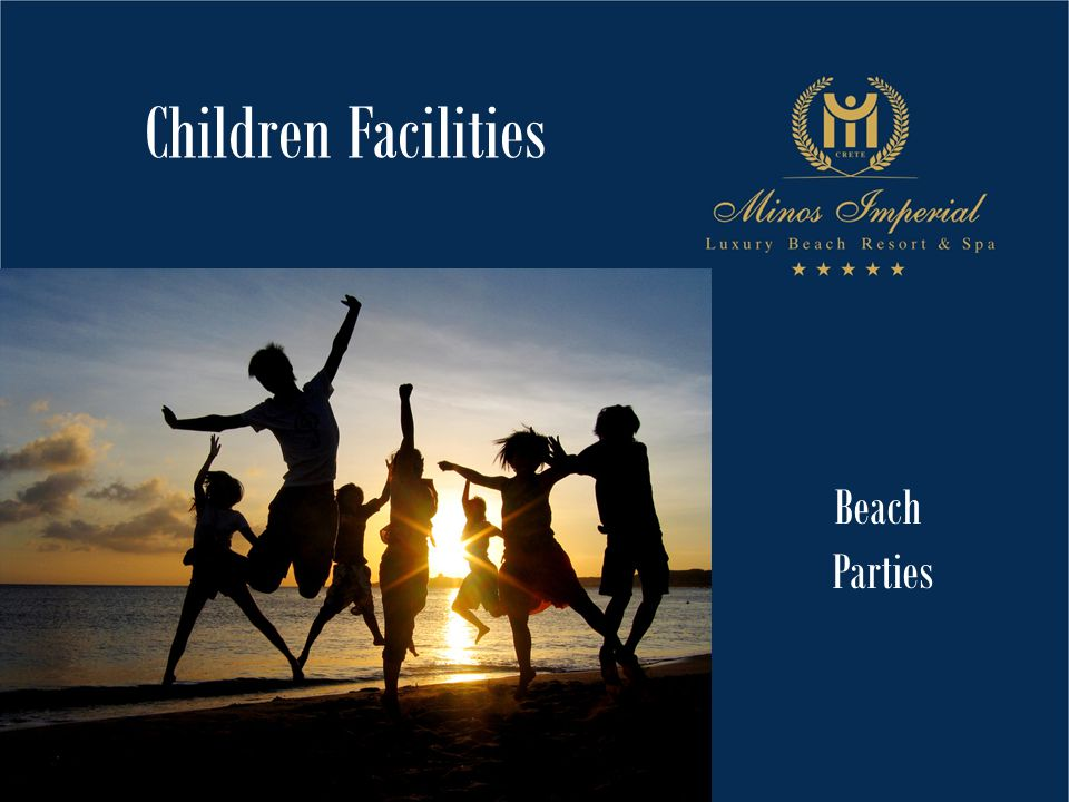Beach Parties Children Facilities