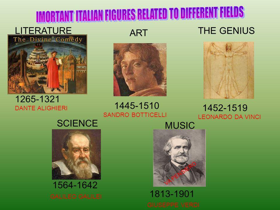 Leonardo Da Vinci (Vinci 1452 – Amboise 1512 ) Painter, architect, sculptor, inventor, misician..Giotto portrait.