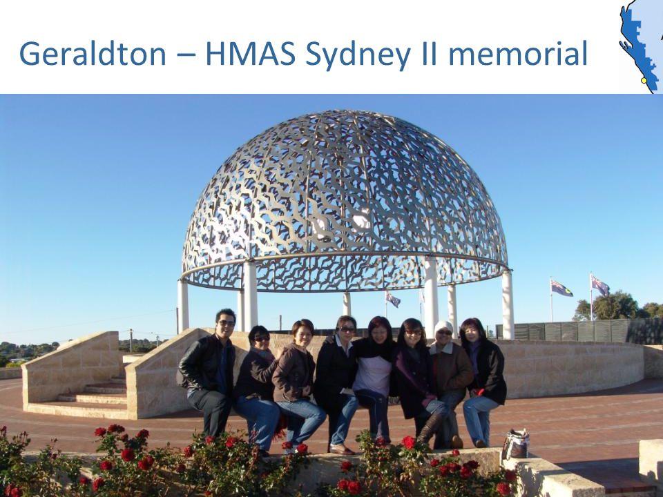 Geraldton – HMAS Sydney II memorial