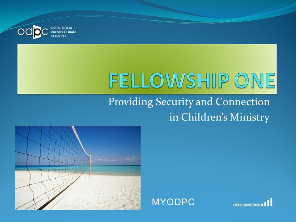 What is Fellowship One.