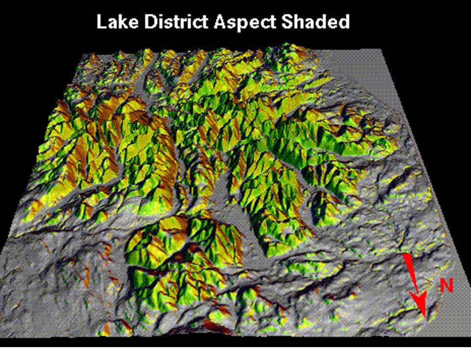 Washington State Topography, DTM