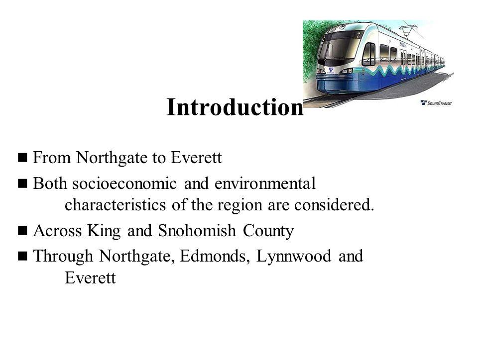 Proposed Route for LTR Everett Link Tsit Lam Runze Yu December 3, 2007