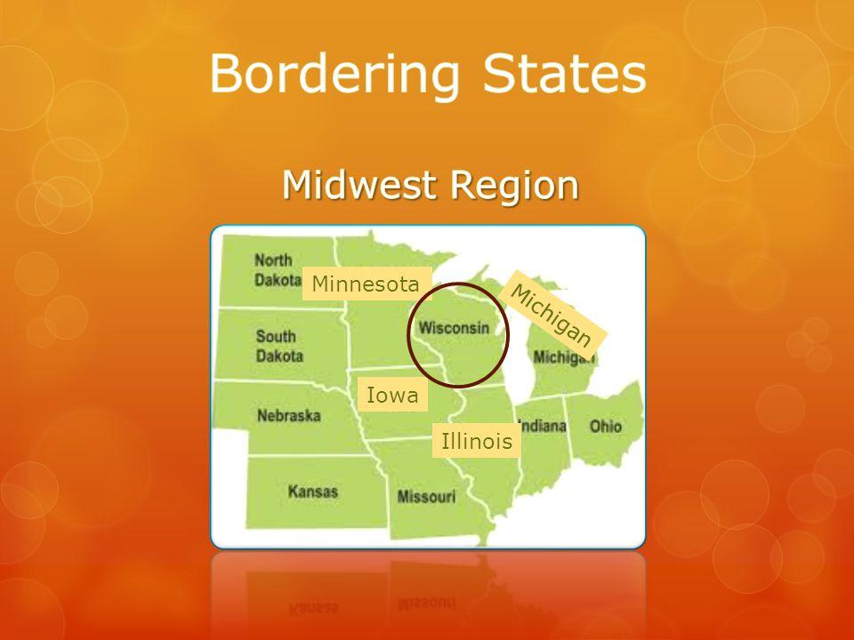 Minnesota Michigan Iowa Illinois