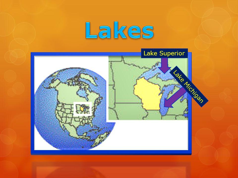 Lake Superior Lake Michigan