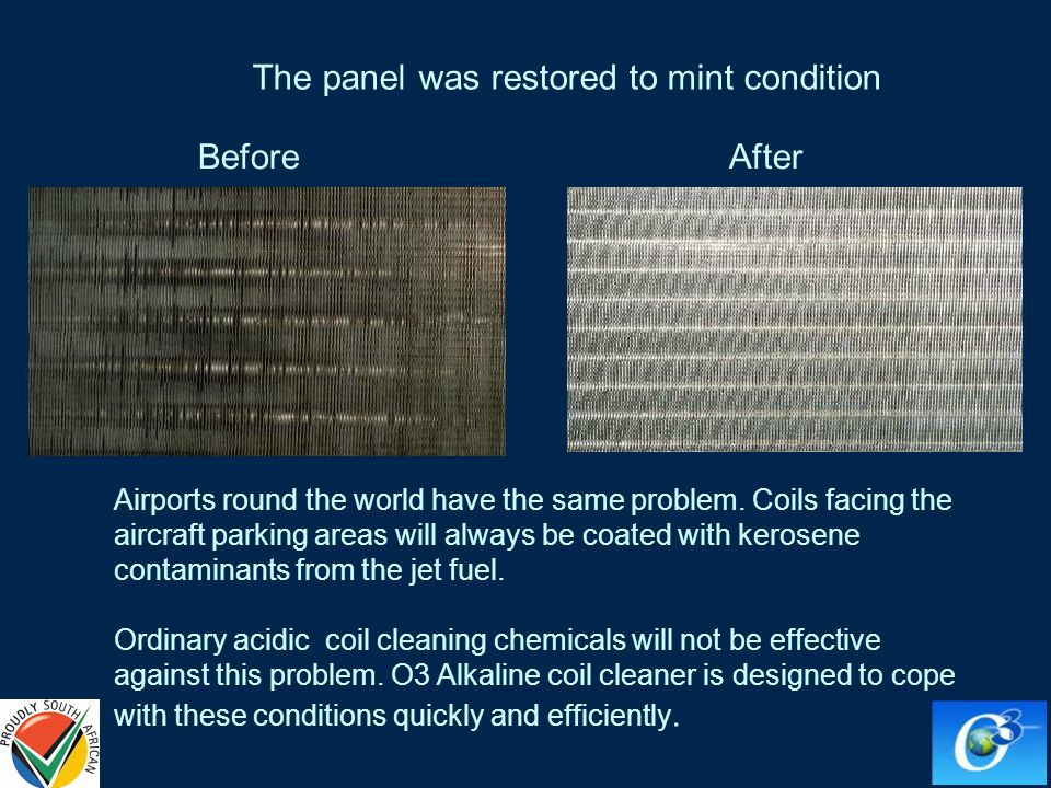 The panel was restored to mint condition Airports round the world have the same problem.