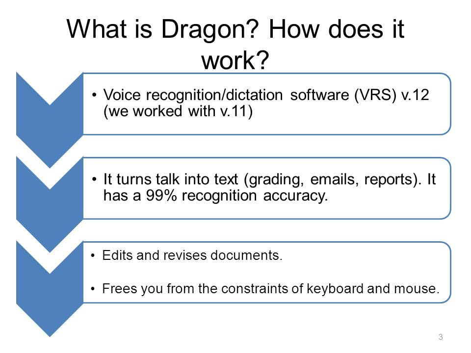 What is Dragon. How does it work.