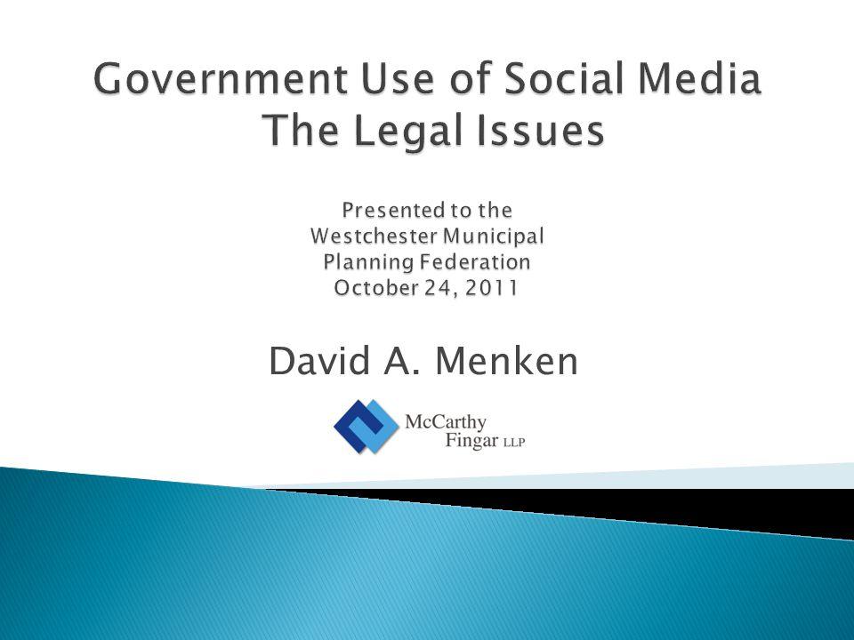 David A. Menken