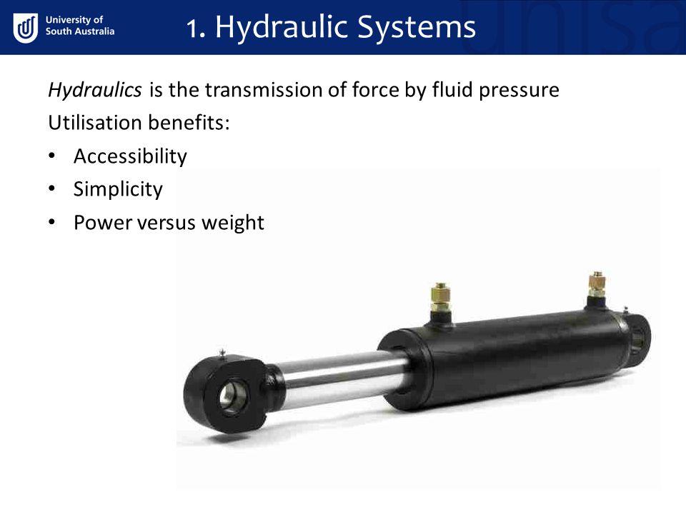Hydraulic Operation - Heavy aircraft 1. Hydraulic Systems