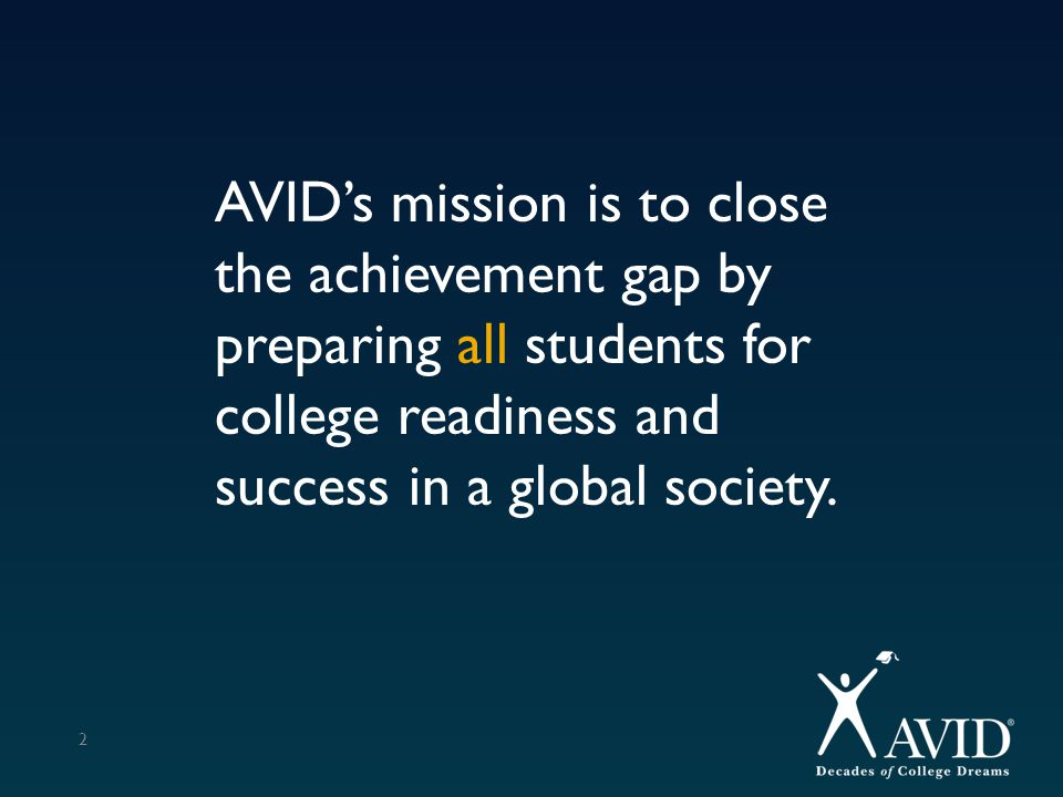 % who took the SAT in 11 th Grade 43 AVID Group (65 out of 78 took)Non-AVID Group (29 out of 371 took) 11 th Graders