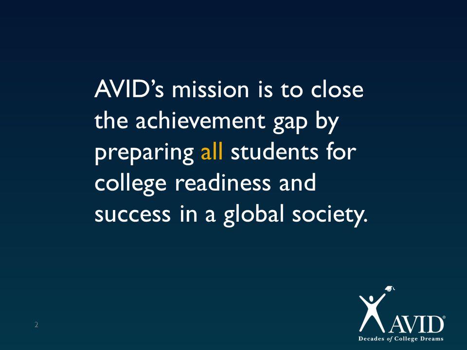 Average GPA / Student 33 8 th GPA – AVID = 89.98 and Non-AVID = 88.05