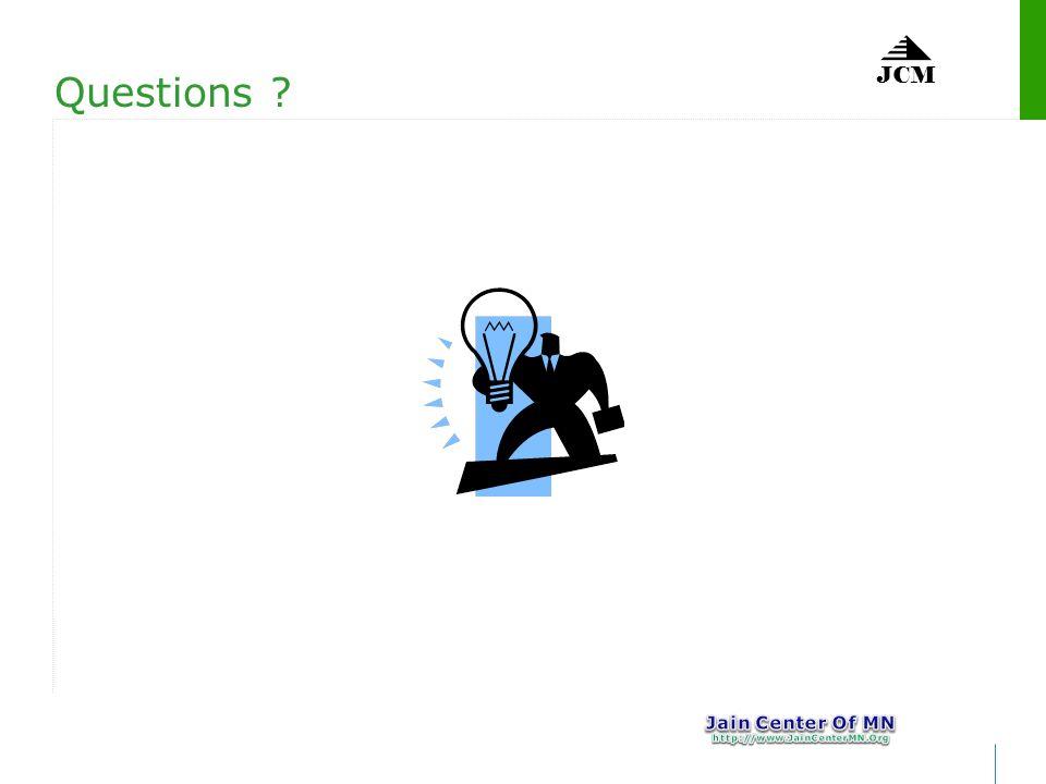 JCM Questions