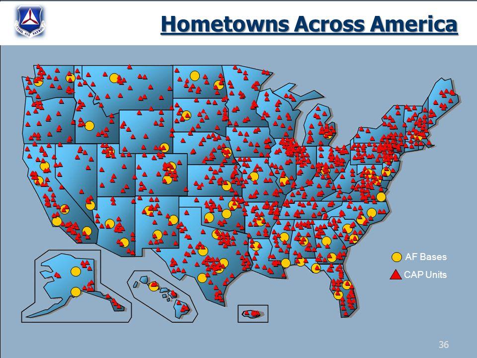 AF Bases CAP Units Hometowns Across America 36