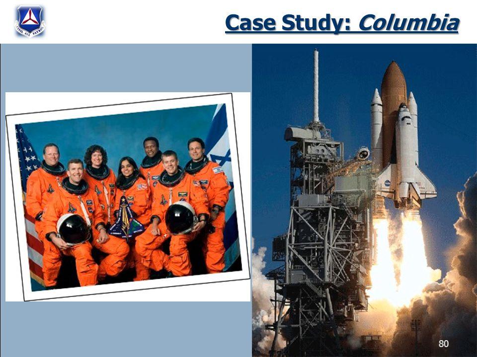 Case Study: Columbia 80