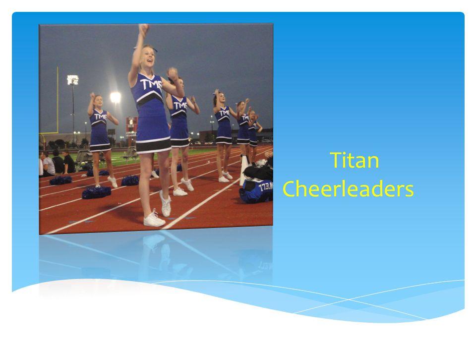 Titan Cheerleaders