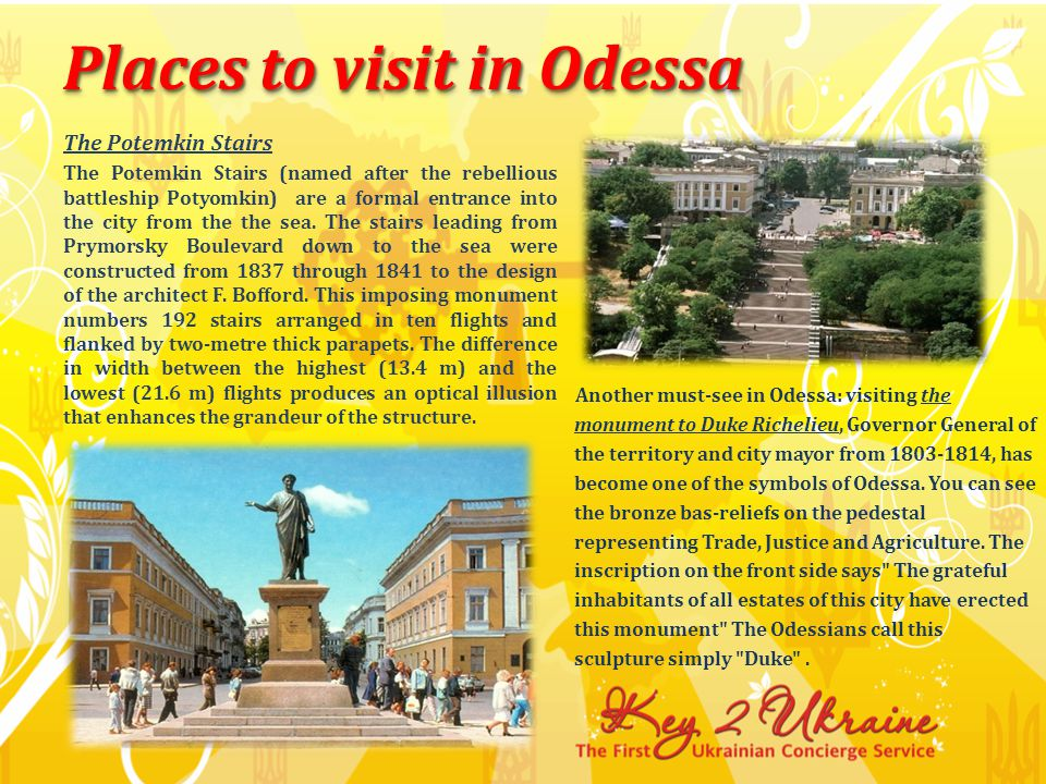 Palaces Of Odessa The excursion comes to its end with the visit to Naryshkin s Palace - a vivid example of and realization of classical architectural traditions of that time..