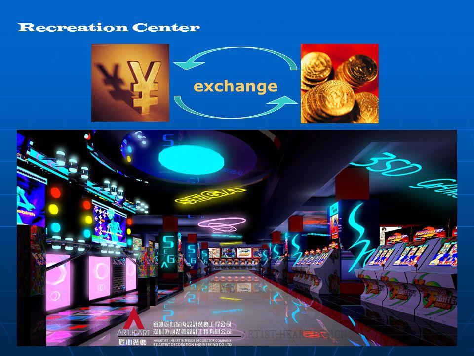 Recreation Center exchange