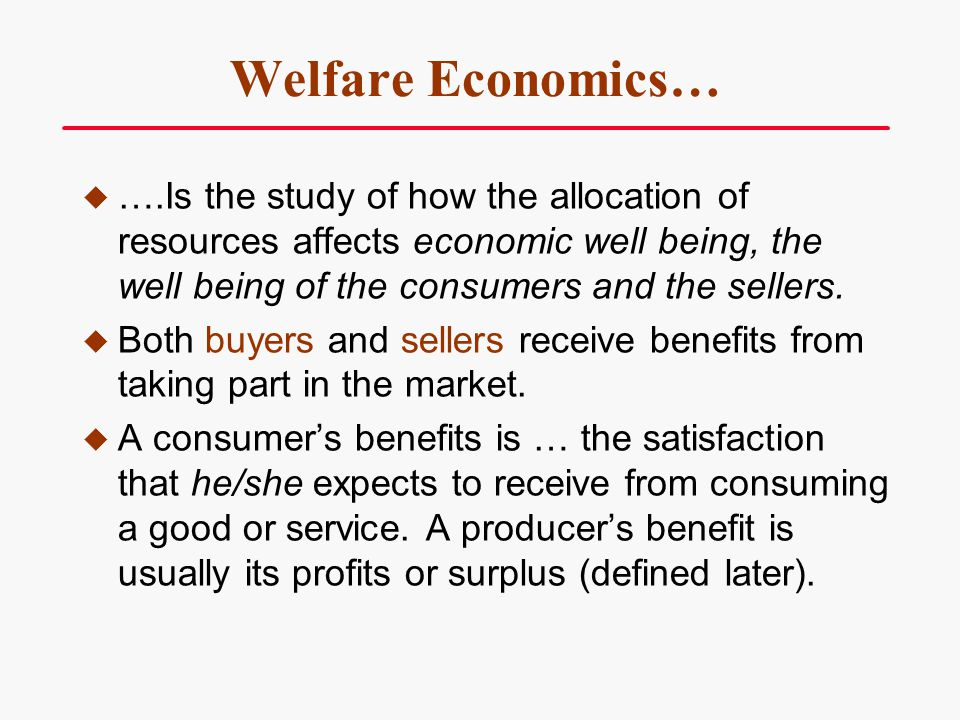 Consumer Surplus and Market Price A lower market price will usually increase consumer surplus.