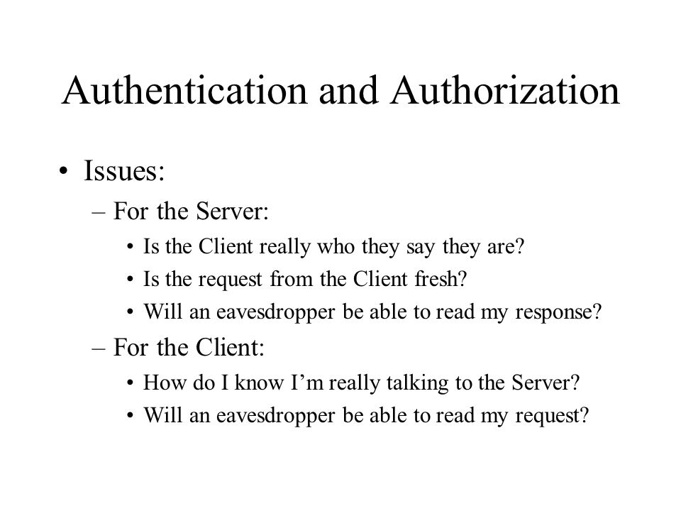 Kerberos - Overview Trusted third-party authentication service for computer networks Developed at the Massachusetts Institute of Technology Based on the client-server architecture Capabilities: –A client program requesting a service can prove the identity of the user on whose behalf it is operating –Clients can also (optionally) ask a server program to authenticate itself –Kerberos can protect the privacy and integrity of messages between clients and servers