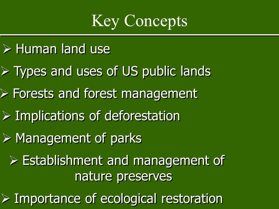 CHAPTER 23 Sustaining Terrestrial Biodiversity: The Ecosystem Approach