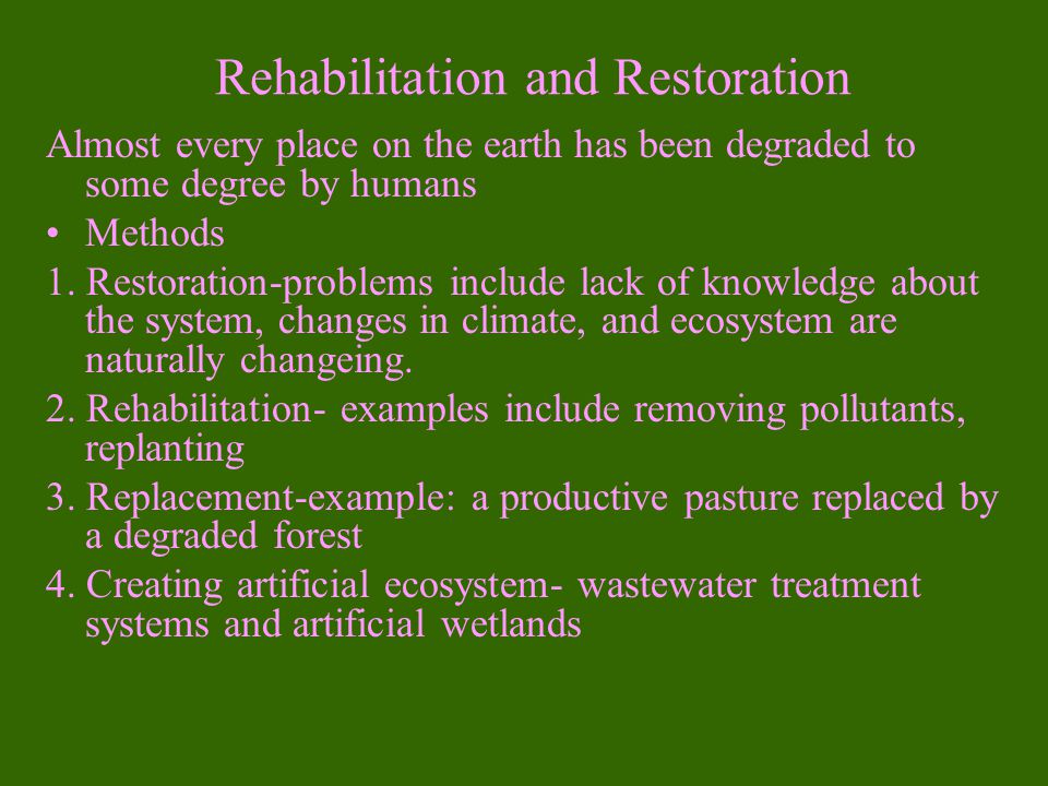 What is Ecological Restoration.1.