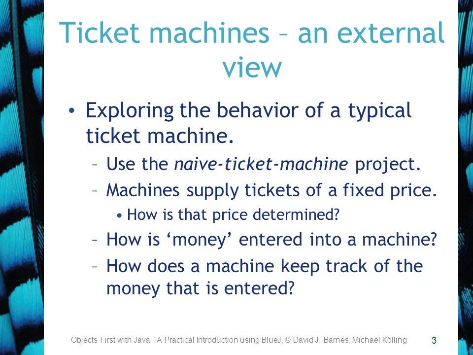 14 Methods Methods implement the behavior of objects.