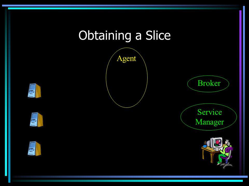 Obtaining a Slice Agent Service Manager Broker