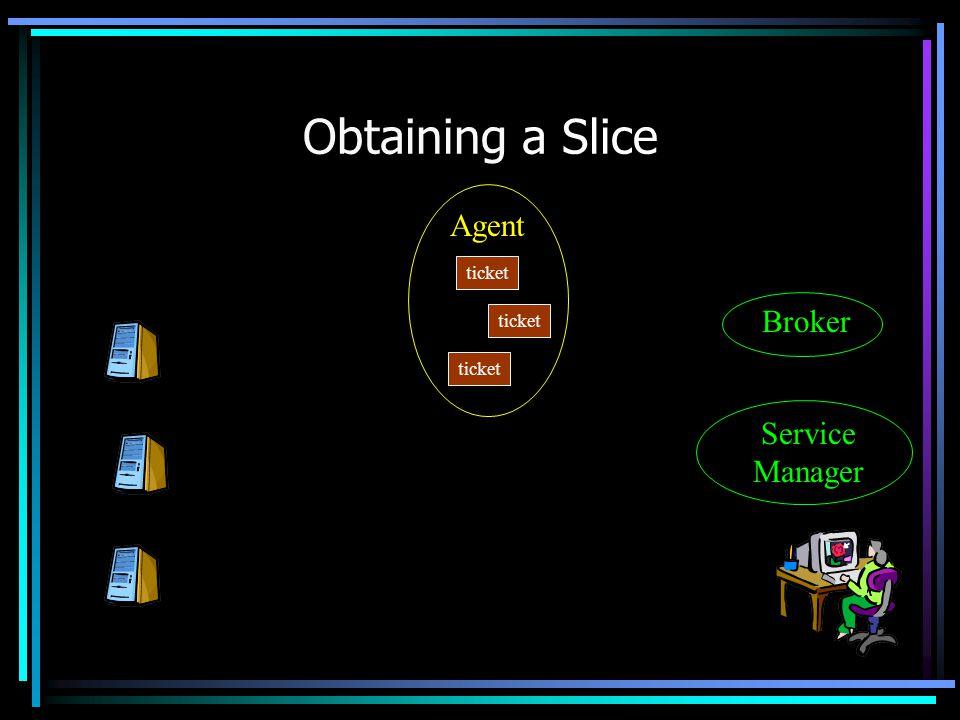 Obtaining a Slice Agent Service Manager Broker ticket